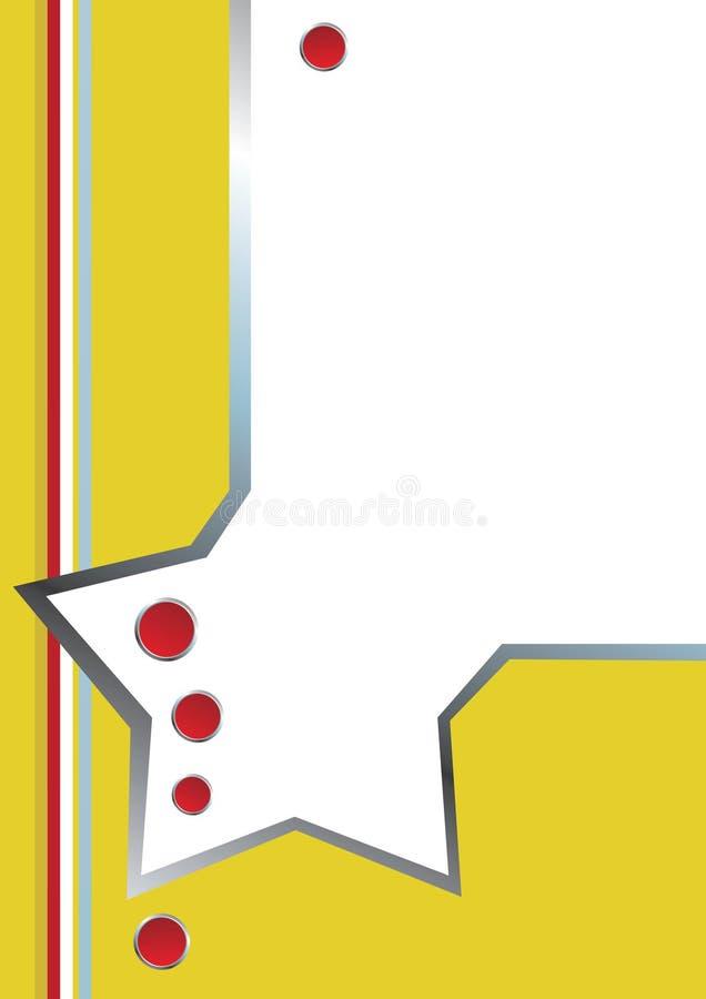 affärsbrevhuvudmall royaltyfri illustrationer