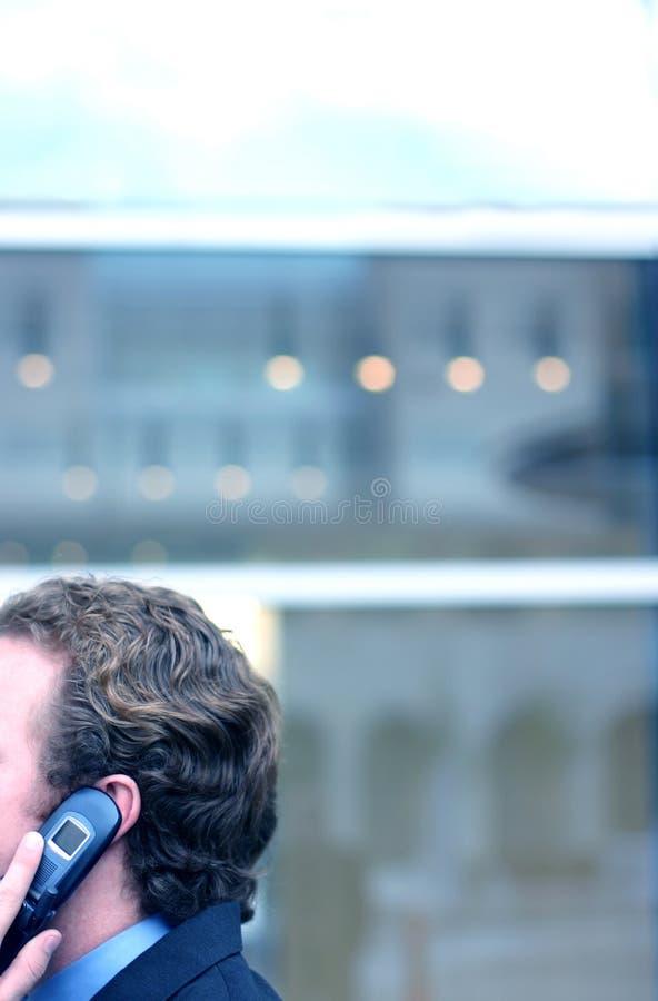 affärscelltelefon arkivfoto