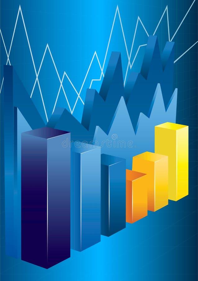 Download Affärsdiagram vektor illustrationer. Illustration av företags - 27284612
