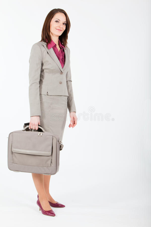 affärsfallkvinna arkivbilder
