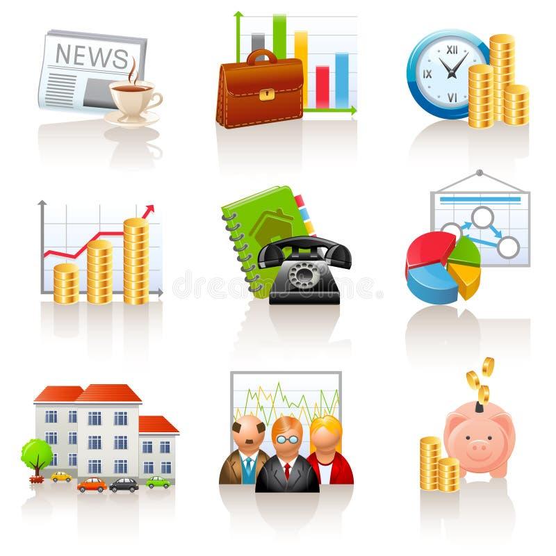 affärsfinanssymboler