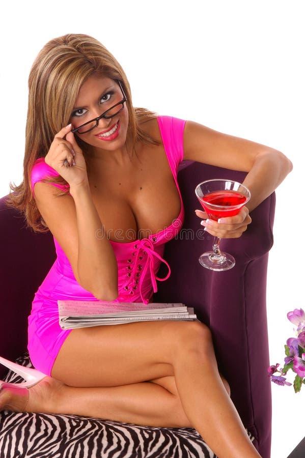 Download Affärsflicka Sexiga Martini Arkivfoto - Bild av coctail, cuba: 238010