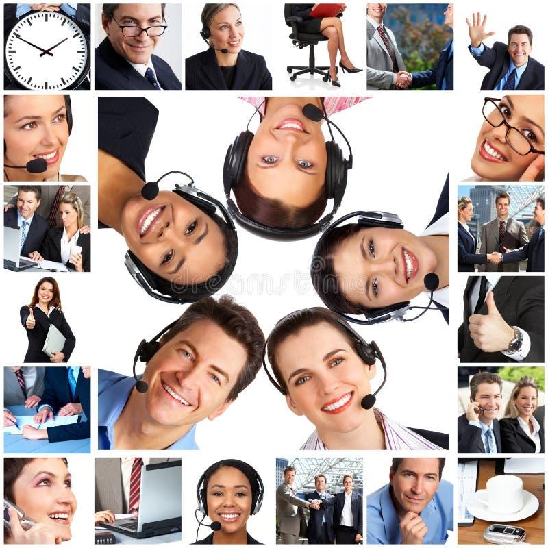 affärsfolk arkivfoto