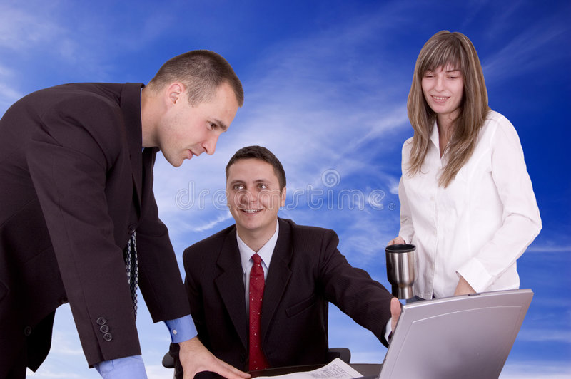 affärsfolk arkivfoton