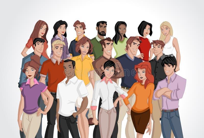 Affärsfolk vektor illustrationer