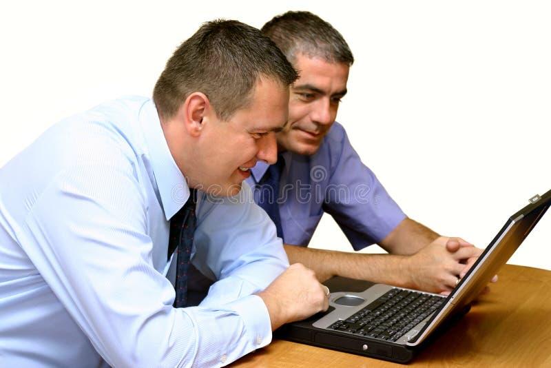affärsfolk som fungerar tillsammans royaltyfri fotografi