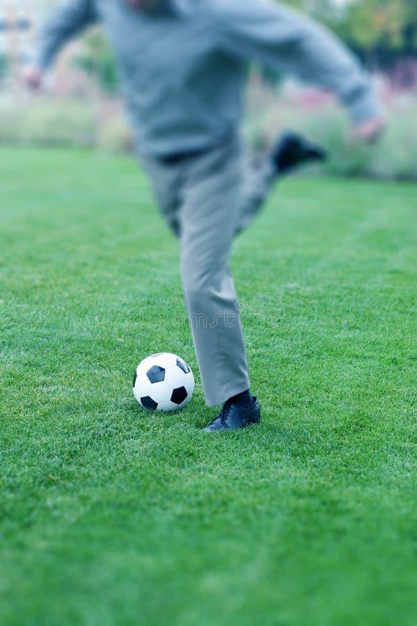 Download Affärsfotboll fotografering för bildbyråer. Bild av spelare - 279223