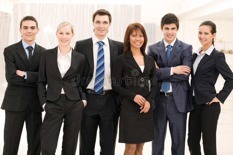 affärsgrupp royaltyfria foton
