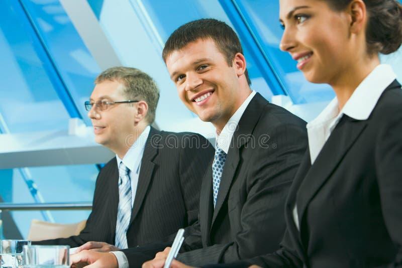 affärsgrupp arkivfoto