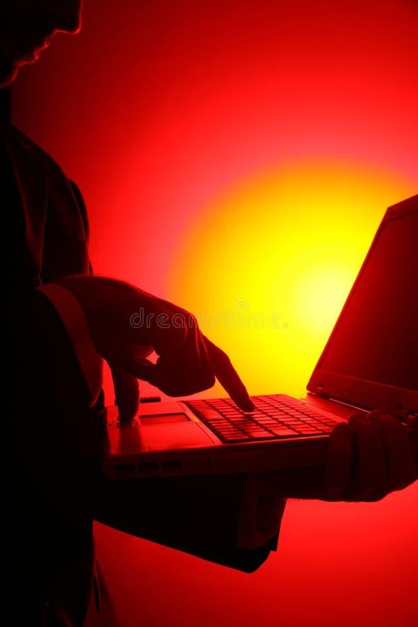 Download Affärshacka fotografering för bildbyråer. Bild av elektronik - 284119