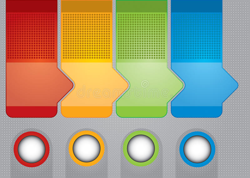 Affärsidé stock illustrationer