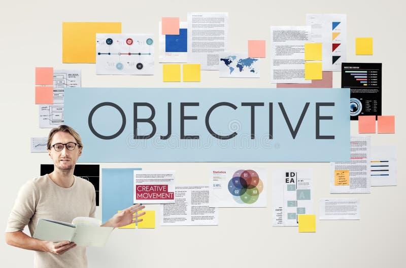 Affärsidé för dokumentmarknadsföringsstrategi arkivbilder