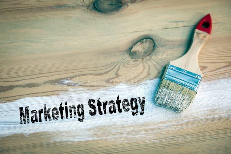 Affärsidé för marknadsföringsstrategi arkivbilder