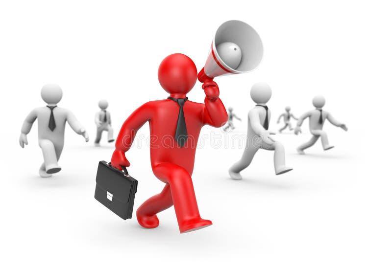 affärsidérekryteringarbetare stock illustrationer