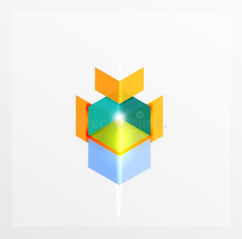 Affärsinfographicsmallar vektor illustrationer