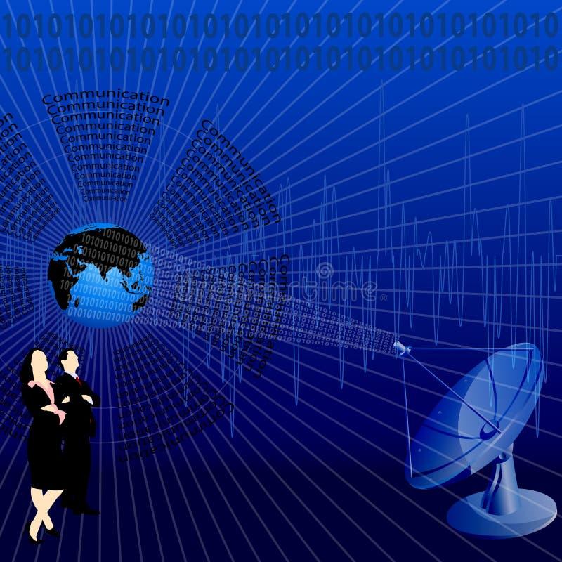 affärskommunikation royaltyfri illustrationer