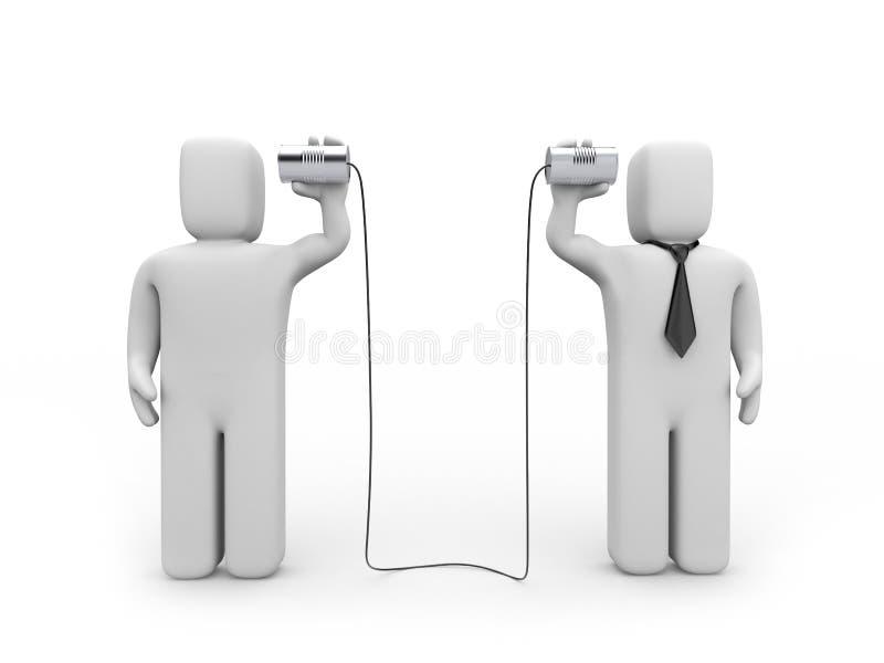 affärskommunikation vektor illustrationer