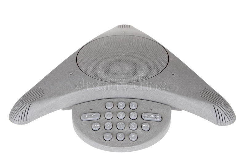affärskonferenstelefon arkivfoton
