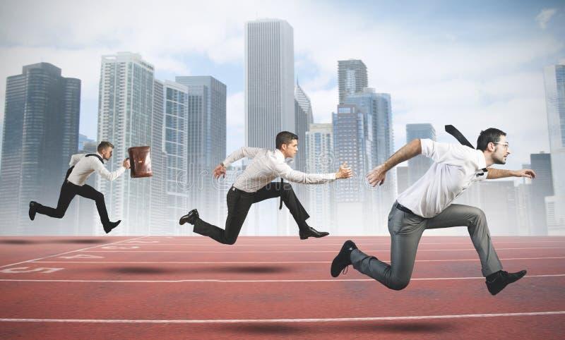 Affärskonkurrens arkivfoto