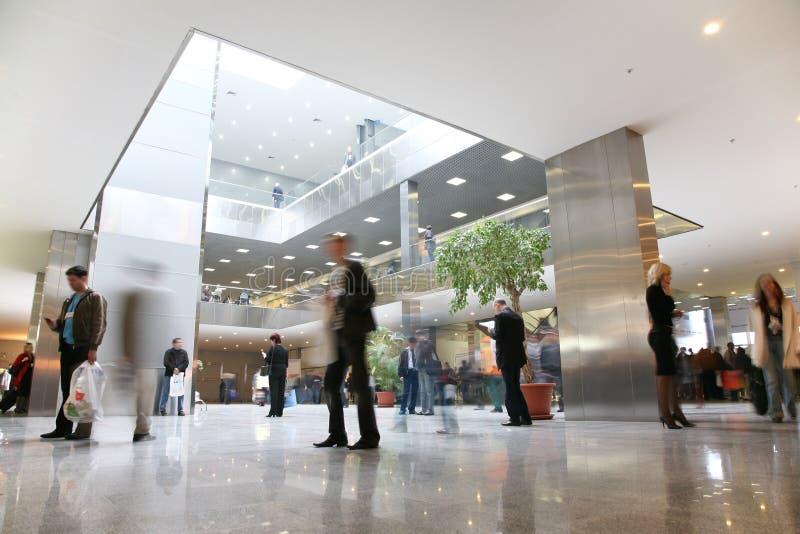affärskorridor arkivfoton