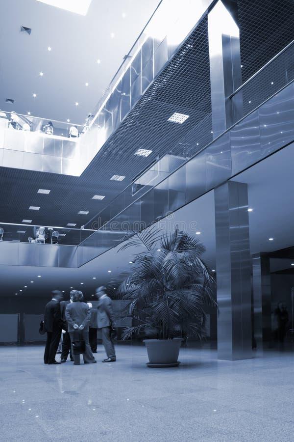 affärskorridor arkivfoto