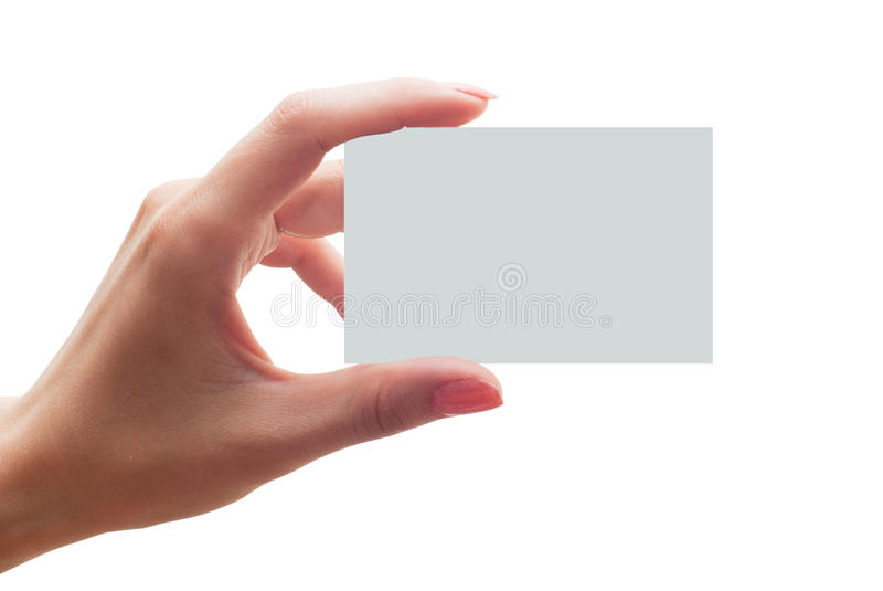 affärskort arkivbild