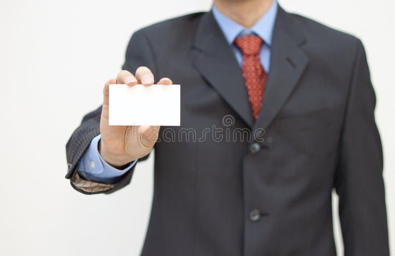 affärskort royaltyfri bild