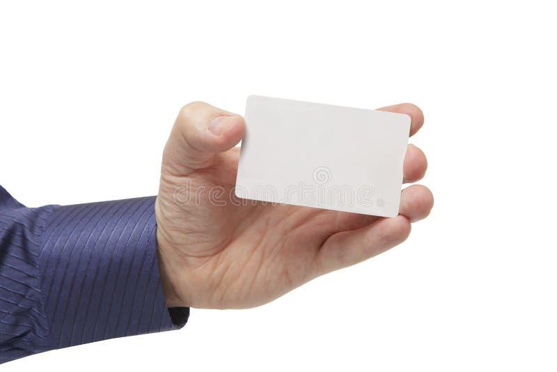 affärskort tömmer white för handman s arkivfoton