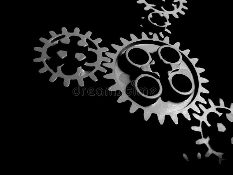 affärskugghjul arkivfoton