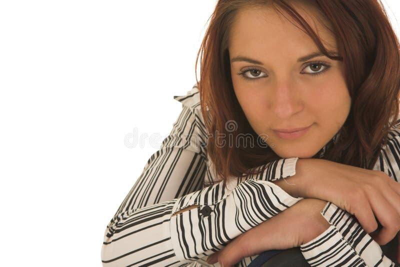 affärskvinna royaltyfria foton