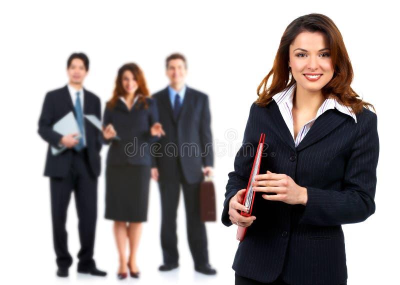 Affärskvinna. arkivbilder