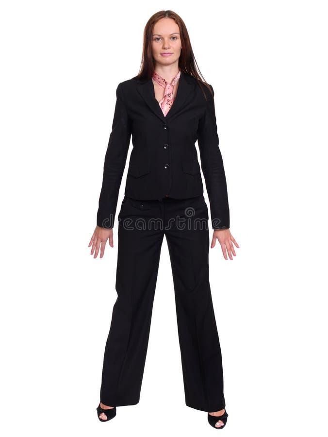 Download Affärskvinna arkivfoto. Bild av ledare, flicka, stående - 37349370