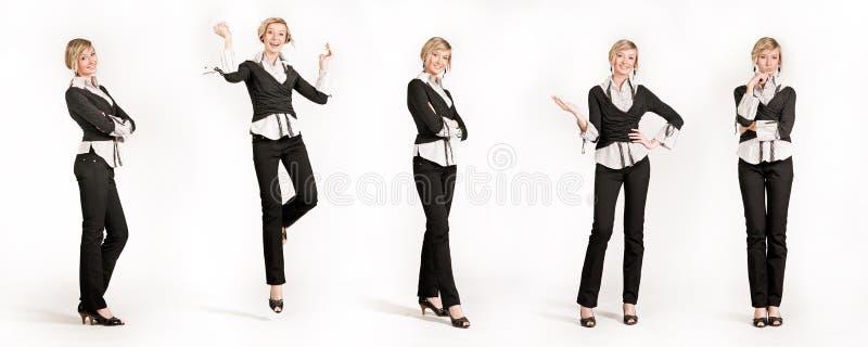 affärskvinna 5 arkivfoton