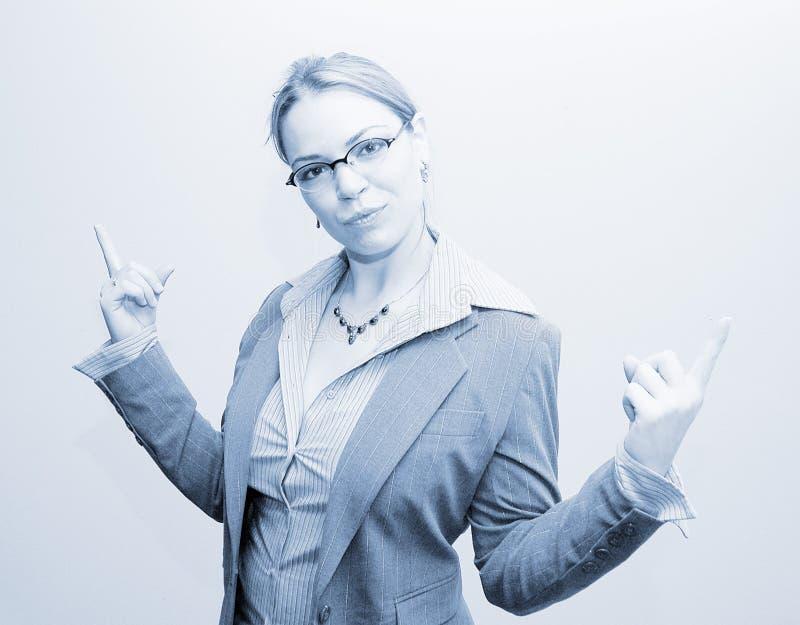 Affärskvinna 6 Fotografering för Bildbyråer