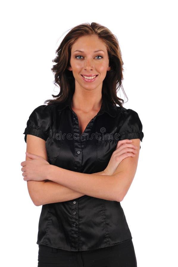 affärskvinnabarn arkivfoton