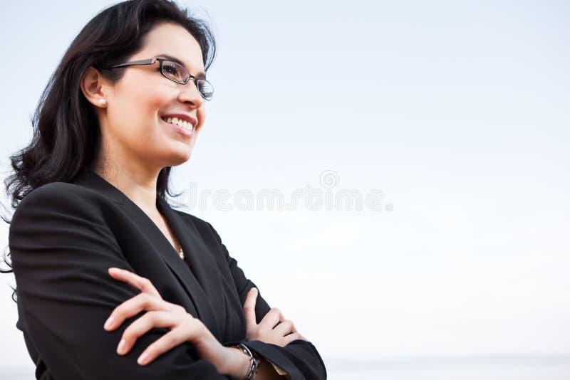 affärskvinnalatinamerikan arkivfoton