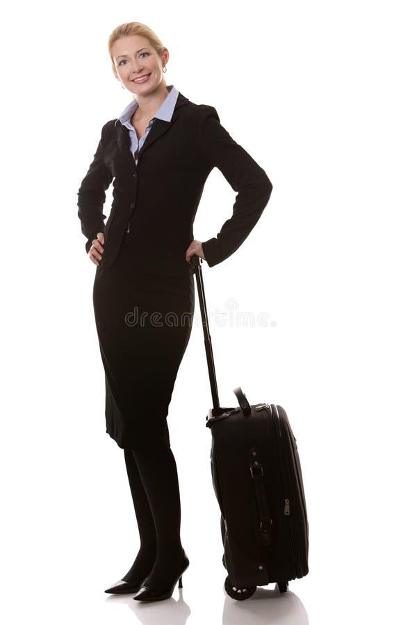 Download Affärskvinnalopp fotografering för bildbyråer. Bild av lopp - 27278305