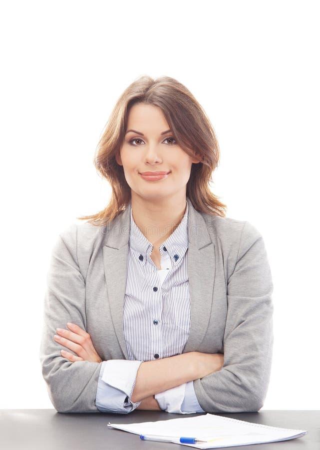 affärskvinnan beklär den formella ståenden arkivfoton