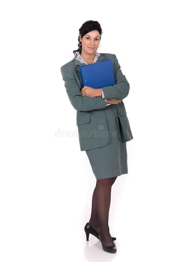 affärskvinnasekreterare arkivfoton