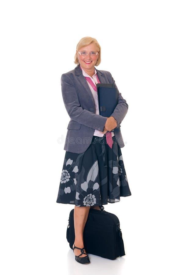 affärskvinnasekreterare royaltyfria foton