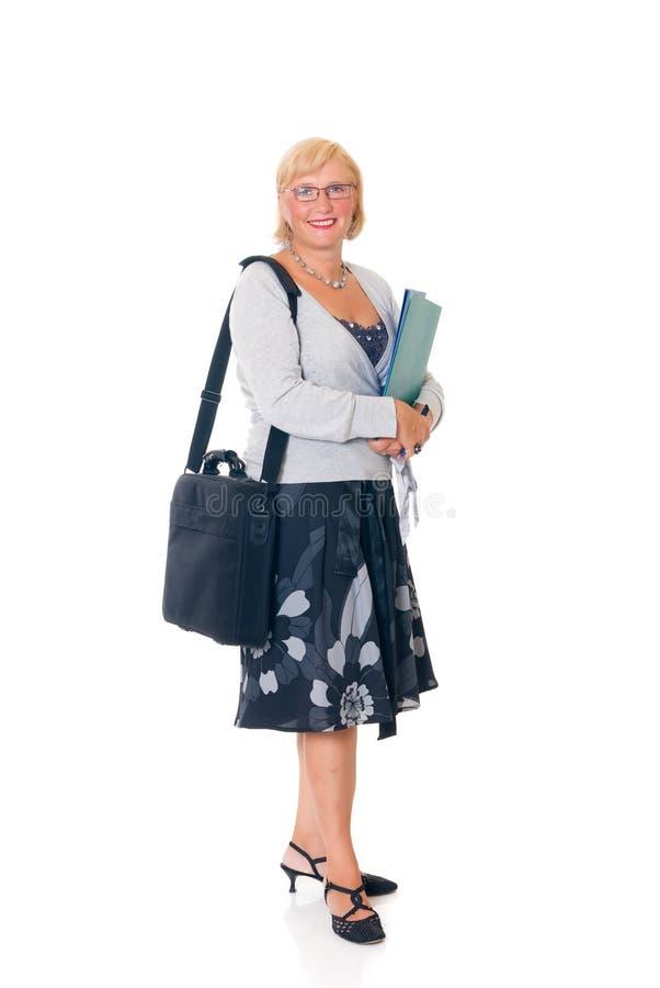 affärskvinnasekreterare royaltyfri bild