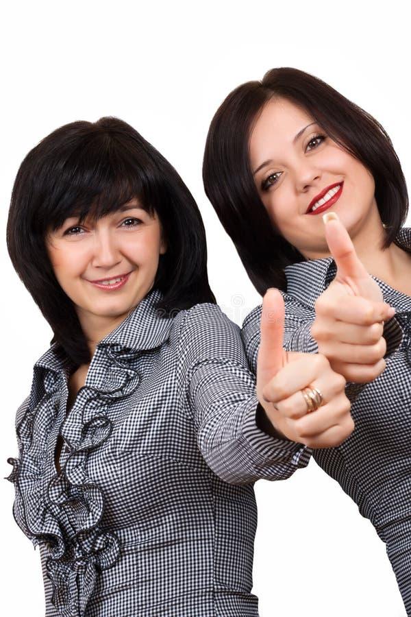 affärskvinnor arkivbild