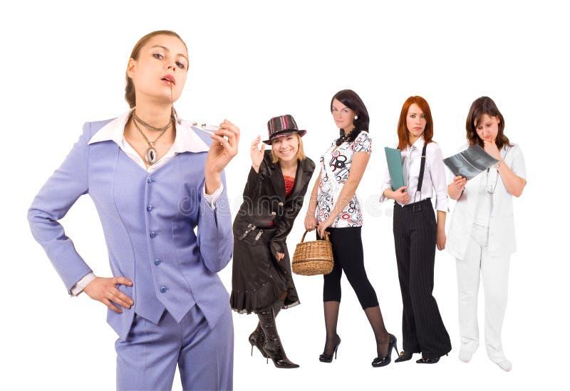 affärskvinnor royaltyfri foto