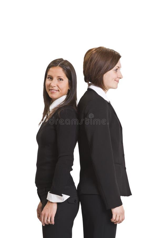 affärskvinnor royaltyfria foton