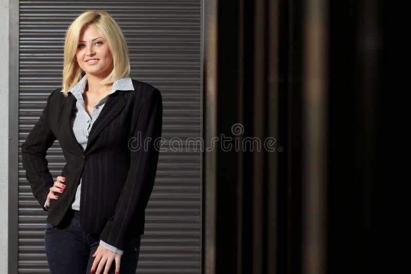 Affärslady fotografering för bildbyråer