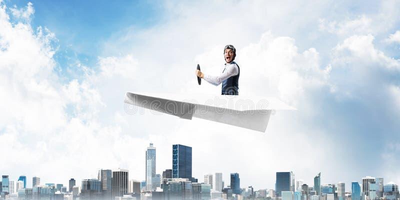 Affärsledarskap och motivationbegrepp stock illustrationer