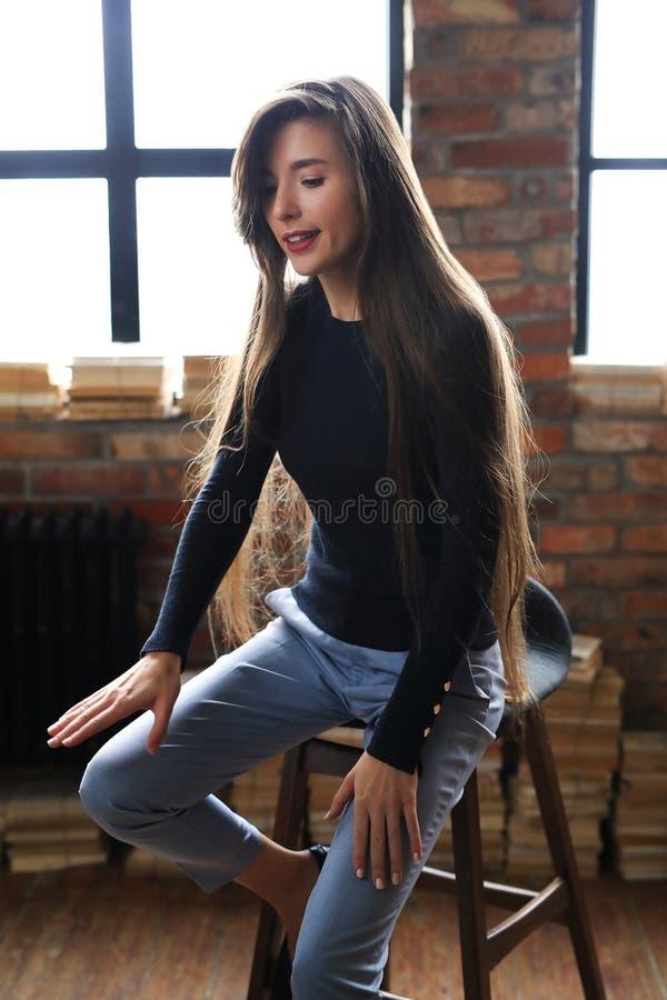Affärsmässig kvinna royaltyfri bild
