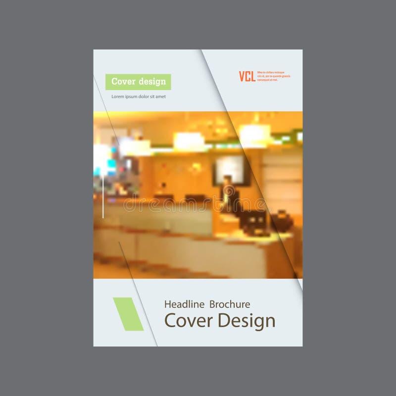Affärsmallar för broschyr, tidskrift, reklamblad, häfte eller årsrapport Abstrakt färgbakgrund, suddig bakgrund stock illustrationer