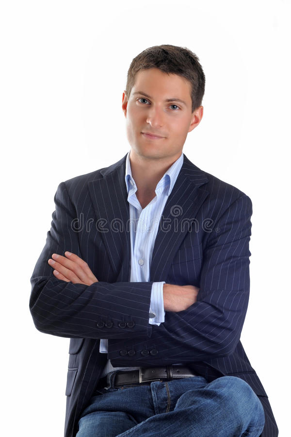 affärsman royaltyfri bild