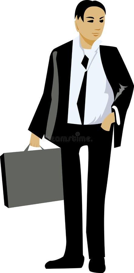 affärsman vektor illustrationer